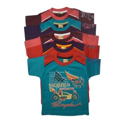 Kidsbazzar Cotton T-Shirts Set of 5