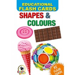 Colours Flash Cards - Multi Colour shapes